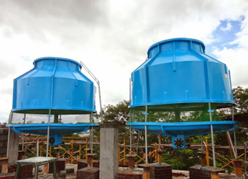 frp-round type cooling tower